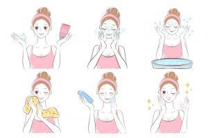 مراحل روزانه مراقبت از پوست