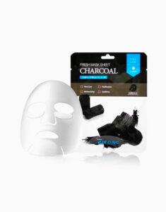 ماسک ورقه ای زغال 3W CLINIC