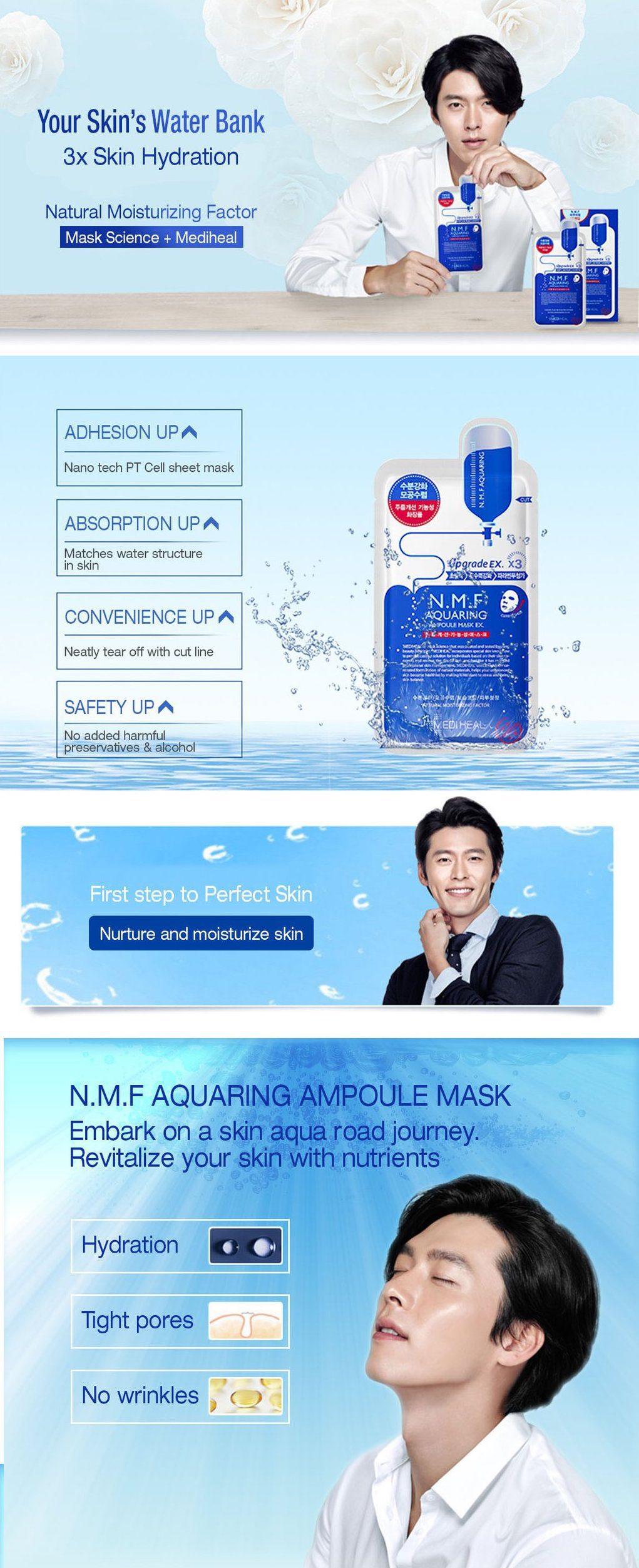 YS Infographic 27 Mediheal N.M.F Aquaring Ampoule Mask 01 02 1024x 1 - فروشگاه اینترنتی می شاپ