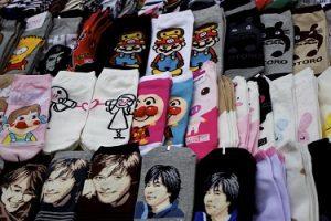 جوراب های متنوع کره ای