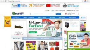 وب سایت های فروشگاهی کره ای