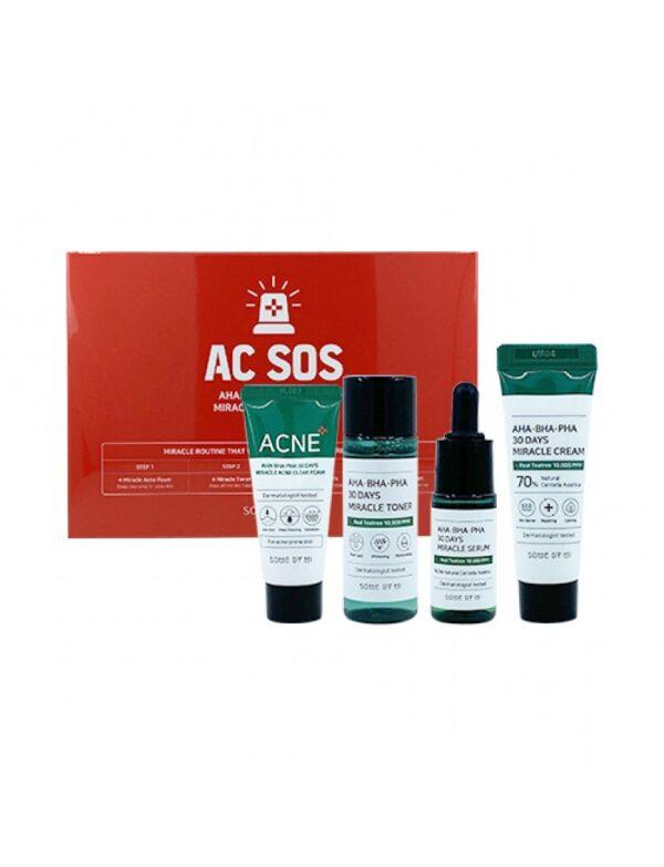 AHA.BHA .PHA 30 Days Miracle AC SOS Kit - فروشگاه اینترنتی می شاپ