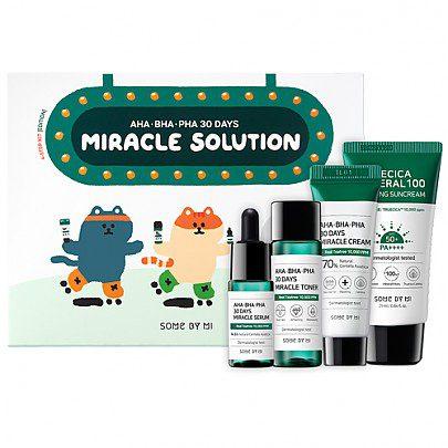 AHA.BHA .PHA 30 Days Miracle Solution4 Step Kit - فروشگاه اینترنتی می شاپ