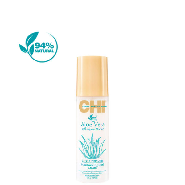 CHI AloeVera Moisturizing Curl Cream 5 94Percent - فروشگاه اینترنتی می شاپ