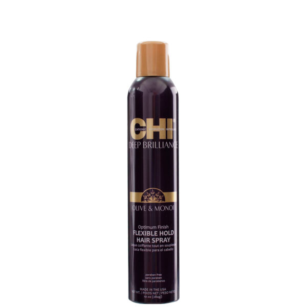 CHI Deep Brilliance Flexible Hold Spray 10floz New2 - فروشگاه اینترنتی می شاپ