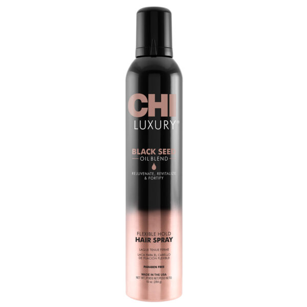 CHI Luxury Black Seed Oil Blend Hair Spray 10oz - فروشگاه اینترنتی می شاپ