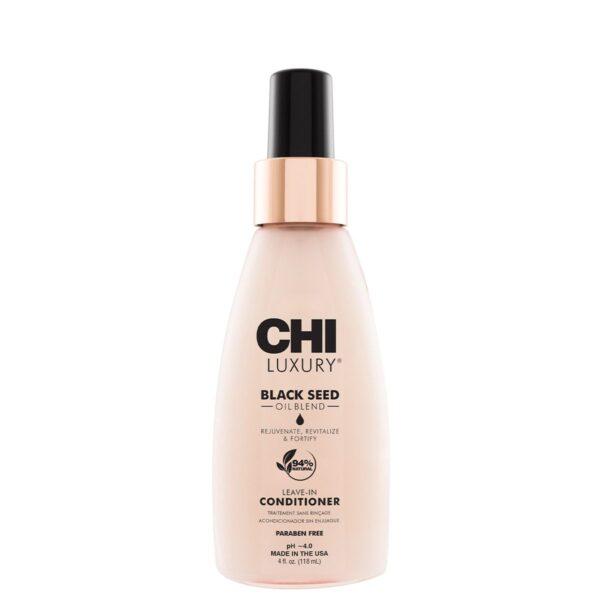 CHI Luxury Black Seed Oil Blend Leave In Conditioner 4oz - فروشگاه اینترنتی می شاپ
