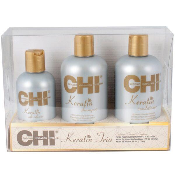 CHI Keratin Trio New 1 - فروشگاه اینترنتی می شاپ
