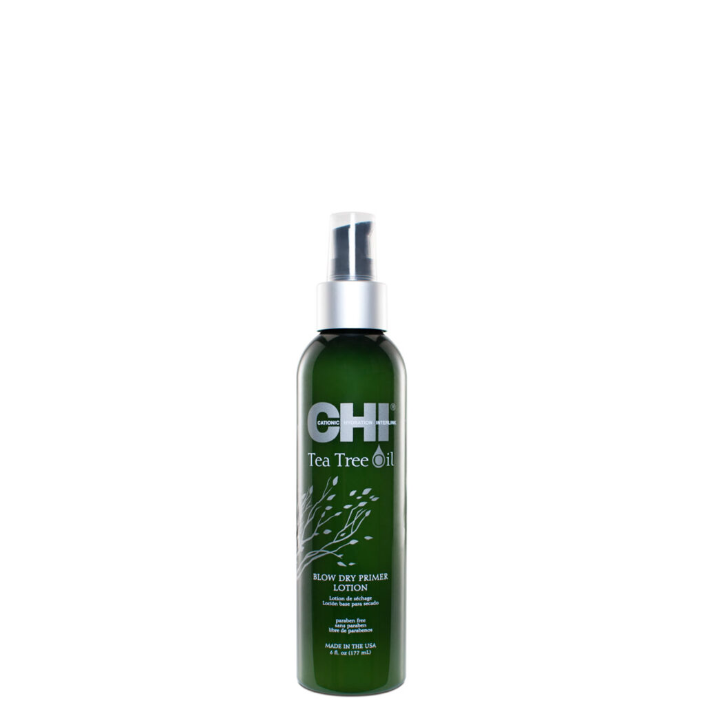 CHI Tea Tree Oil Blow Dry Primer Lotion 6floz New3 - فروشگاه اینترنتی می شاپ