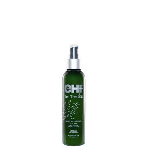 CHI Tea Tree Oil Blow Dry Primer Lotion 6floz New3 - فروشگاه اینترنتی می شاپ