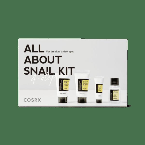 کیت حلزون 4 مرحلهای کو اِس آر اِکس COSRX - فروشگاه اینترنتی می شاپ