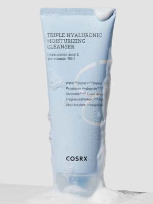 COSRX Hydrium Triple Hyaluronic Moisture Cleanser 150ml - فروشگاه اینترنتی می شاپ