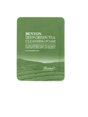 DEEP GREEN TEA Cleansing Foam (Pouch Sample)