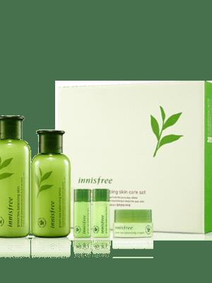 Innisfree Green tea balancing 2 type set - فروشگاه اینترنتی می شاپ