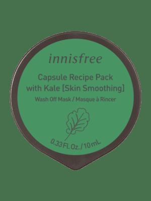 Innisfree Sleeping PackCapsule Recipe Pack Kale 10mL - فروشگاه اینترنتی می شاپ