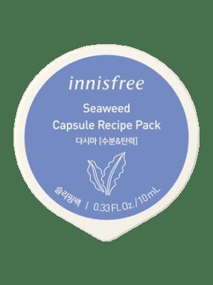 Innisfree Sleeping PackCapsule Recipe Pack Seaweed 10mL - فروشگاه اینترنتی می شاپ