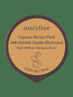 InnisfreeWash Off PackCapsule Recipe pack Volcanic 10mL - فروشگاه اینترنتی می شاپ
