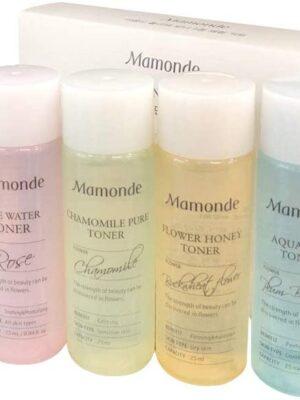 Mamonde flower toner trial kit